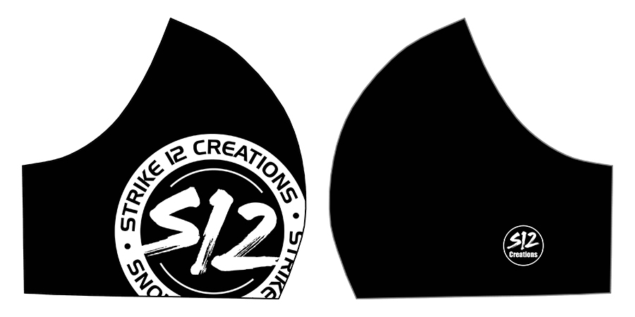 S12 LARGE LOGO BLACK